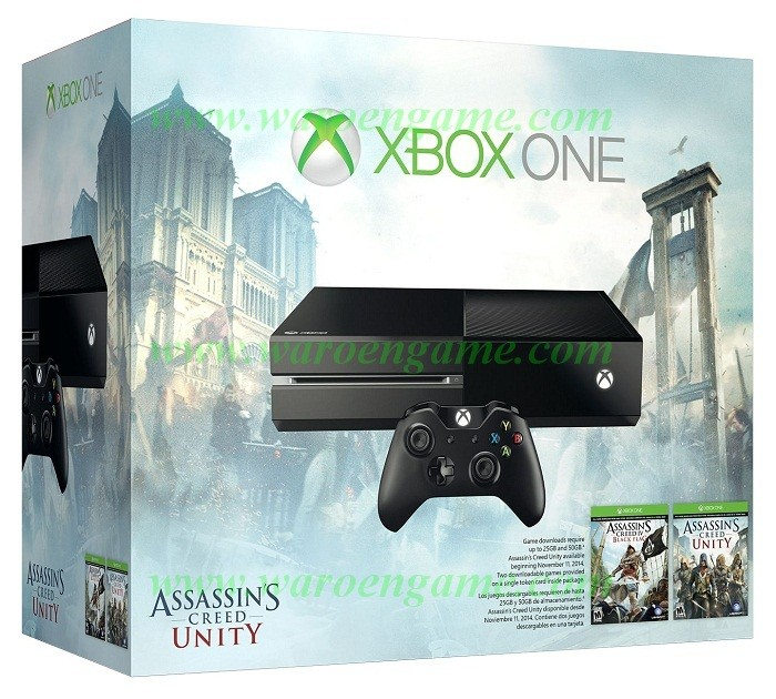 Jual Xbox One Black Bundle Assassin Creed Ac Black Flag Unity