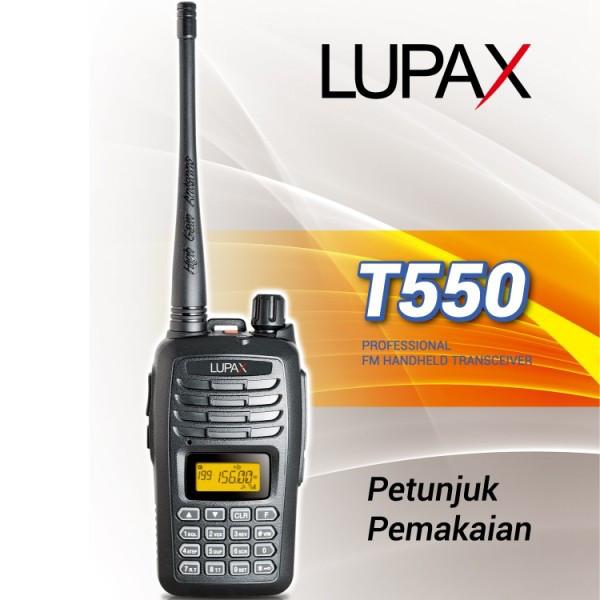 harga Radio komunikasi ht lupax t550 t 550 garansi 1 tahun tukar baru Tokopedia.com