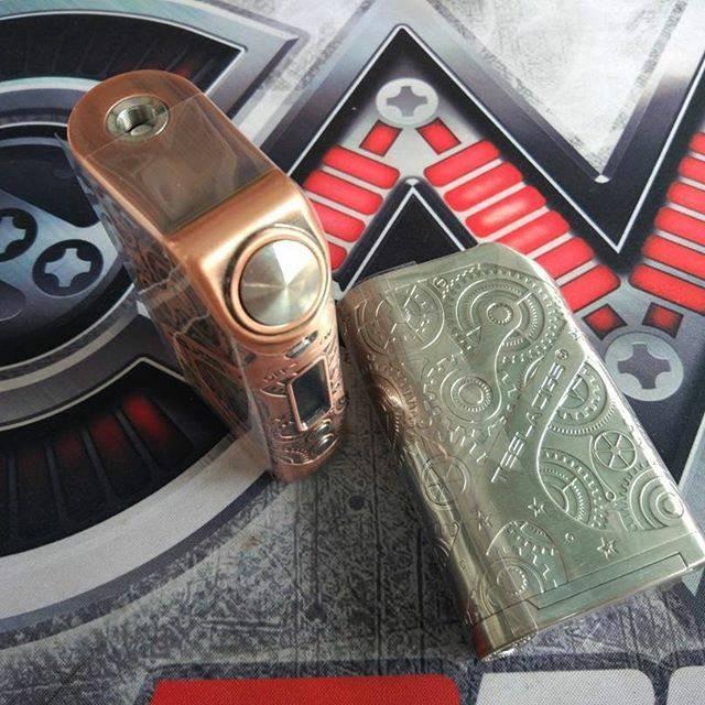 AUTHENTIC TESLA NANO STEAMPUNK 120W TC BOX MOD