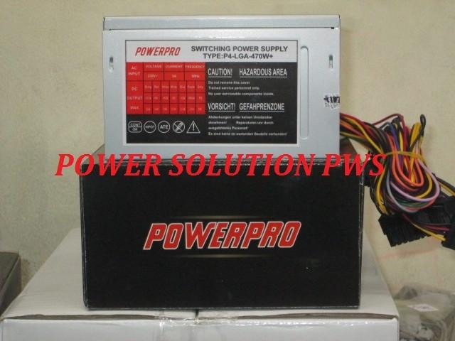 harga Power supply power pro 470watt, psu komputer 470watt, psu com 470w Tokopedia.com