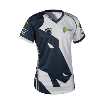 Kaos Gaming - JERSEY LIQUID WHITE 2017