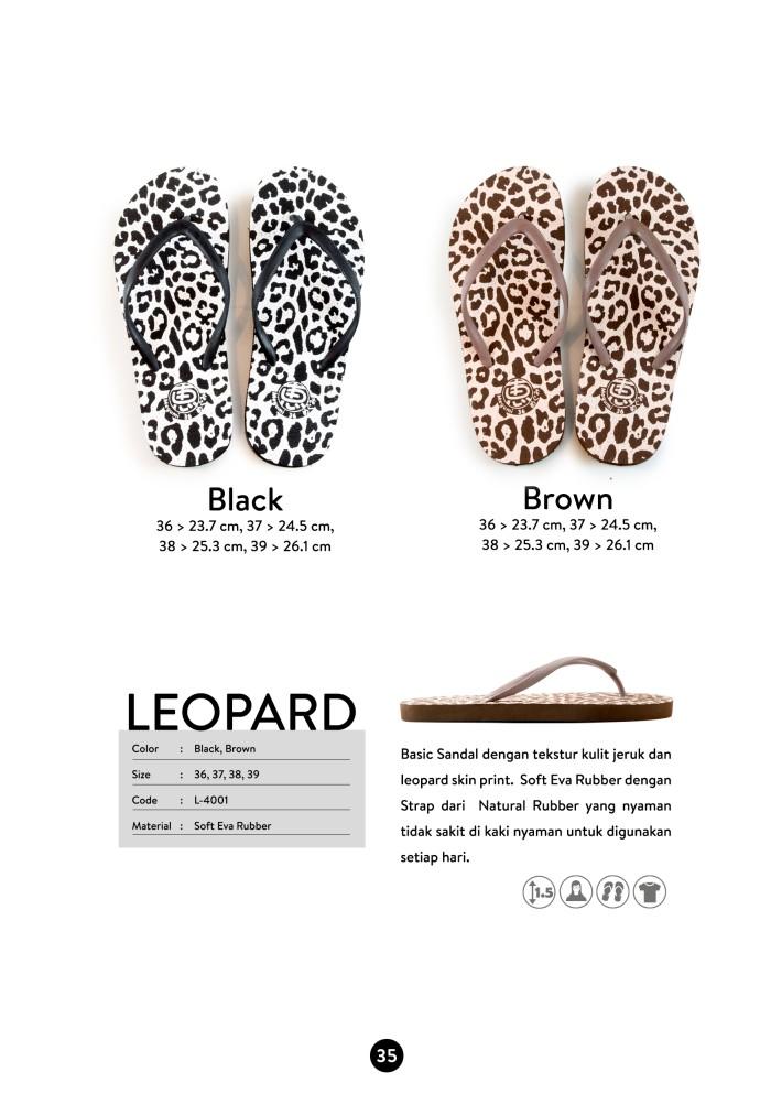 harga Sandal megumi wanita leopard hanya di butika shop Tokopedia.com