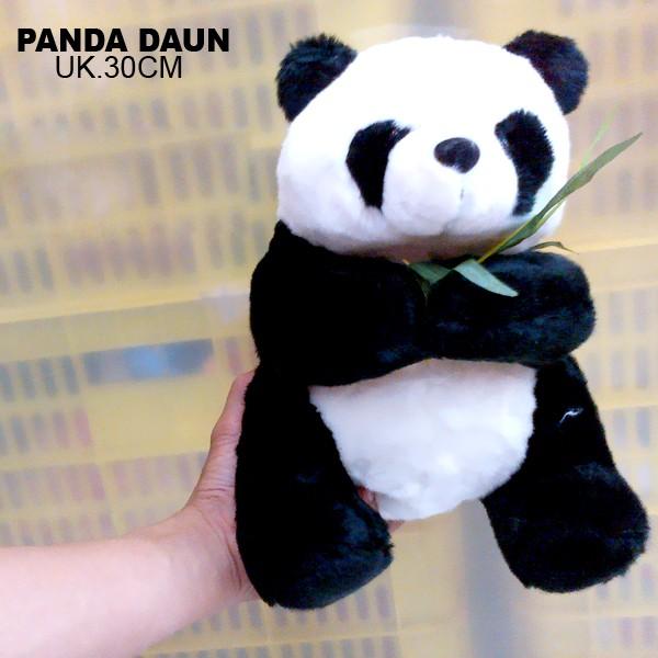 Jual boneka panda daun cek harga di PriceArea.com 0a53bb633f