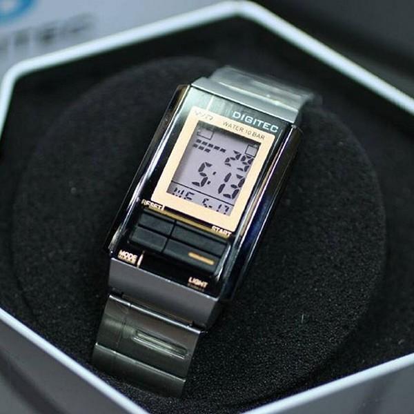 Jam Tangan Digitec DG-3022T Silver Black