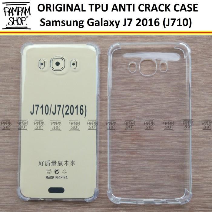 Case TPU Anti Crack Samsung Galaxy J7 2016 J710 Ultra Thin Anti Pecah