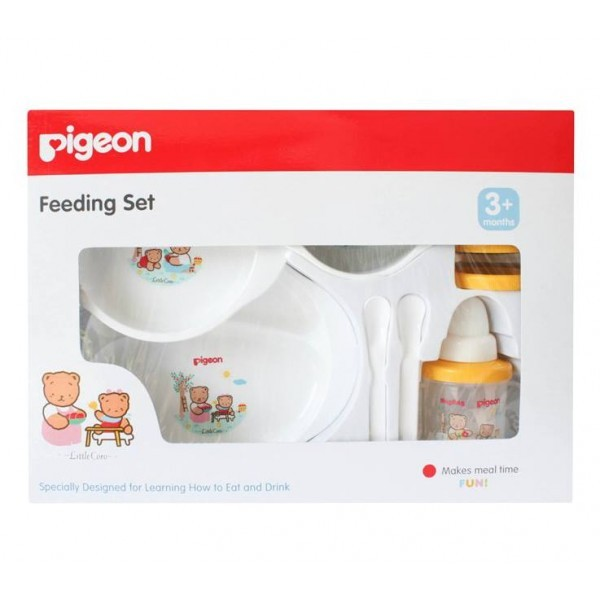 Pigeon Feeding Set Dengan Training Cup - Paket Peralatan Makan