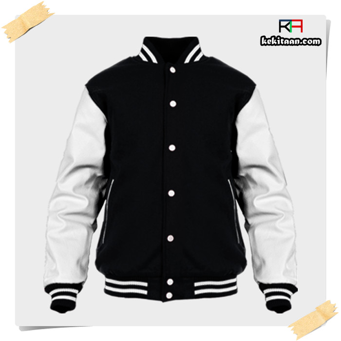 53 Desain Jaket Hitam Putih Gratis Terbaik