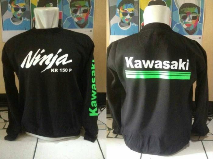 harga Kaos lengan panjang/long sleve keren kawasaki ninja kr 150p Tokopedia.com