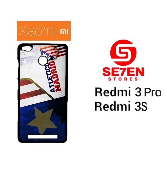 harga Casing hp xiaomi redmi 3 pro 3s atletico madrid custom hardcase cover Tokopedia.com