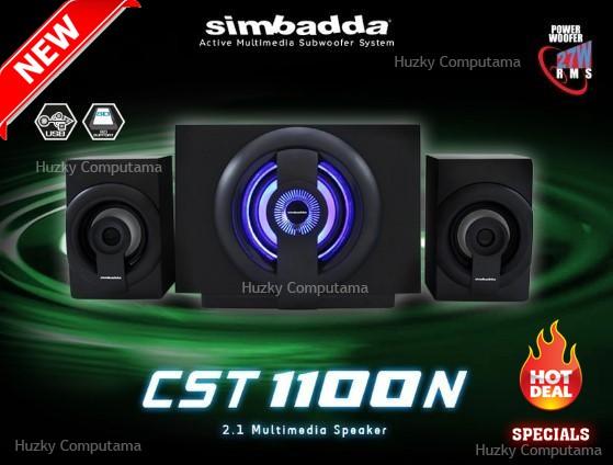 harga Speaker simbadda / simbada cst-1100 / cst1100n - usb sdcard 27watt Tokopedia.com