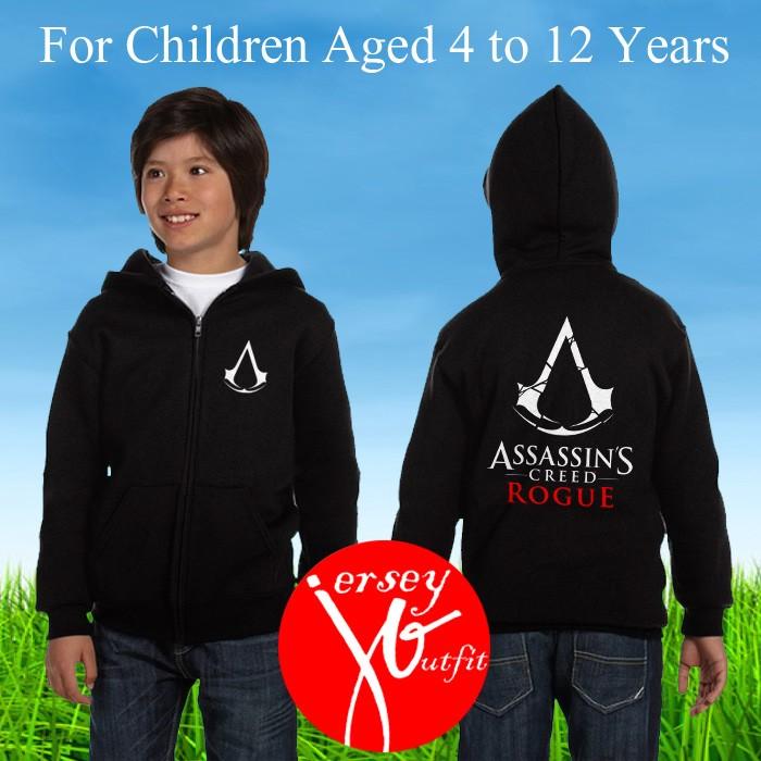 harga Jaket sweater hoodie anak game assassins creed rogoe 01 Tokopedia.com