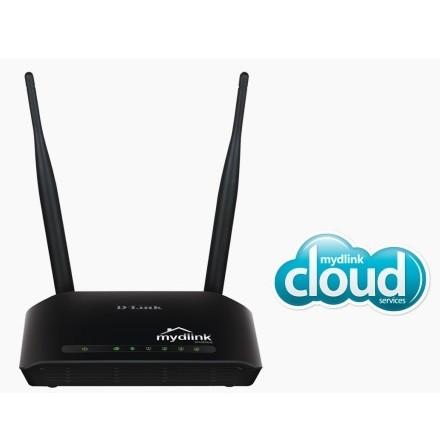 Foto Produk D-Link Wireless N300 Cloud Router - DIR-605L - Black dari datangjualbeli