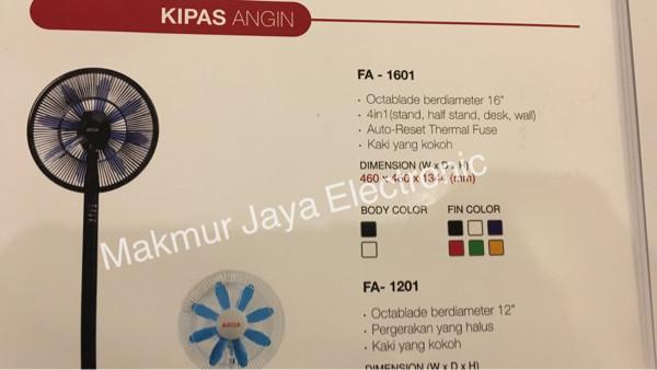 harga Kipas angin arisa 4 in 1 fa-1601 Tokopedia.com