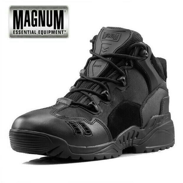 harga Sepatu magnum spider 6  (pendek) hitam army tactical hiking outdoor Tokopedia.com