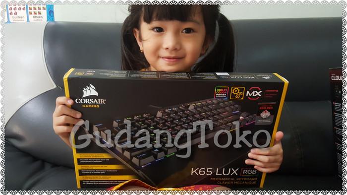 harga Keyboard mechanical corsair k65 lux rgb cherry mx Tokopedia.com