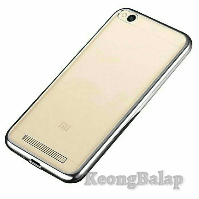 TPU Soft case Jelly List Shining Chrome Xiaomi Redmi 4A / Prime