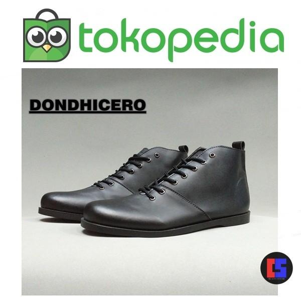 Sepatu Pria Brodo Dondhicero Black - harga Produk Terbaru Di Indonesia 32741e296e