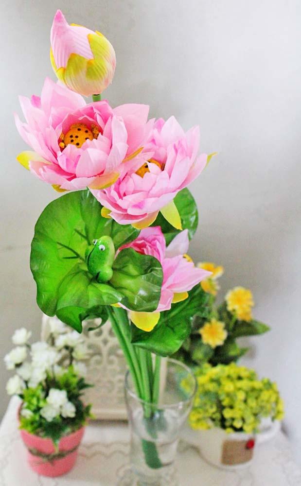 Jual Bunga Plastik Hias Hiasan Artificial Artifisial Teratai Lotus Fower A1 Jakarta Selatan Lapak Angela