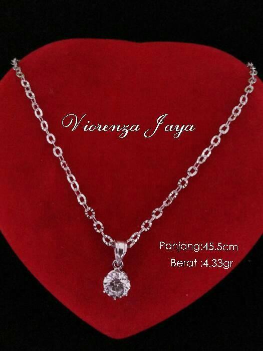 harga Kalung nori ukir + liontin perak 925/perhiasan silver lapis emas Tokopedia.com