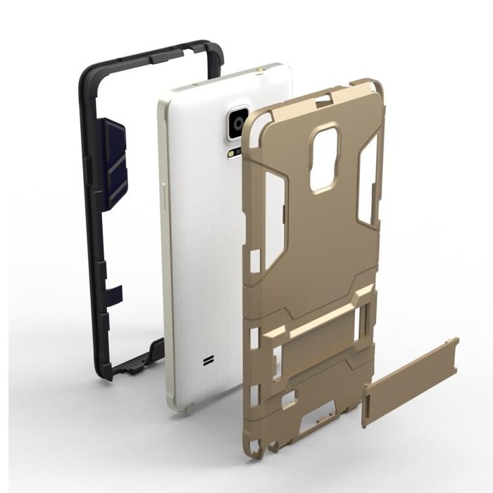Case iPhone 5S Transformer Robot Casing Iron Man - Black