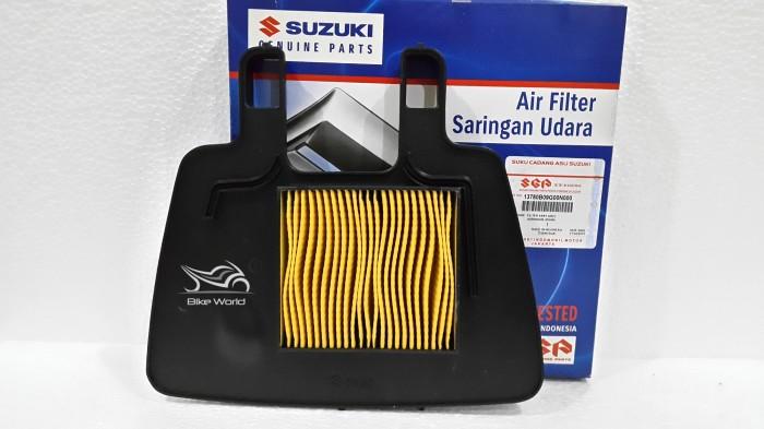 harga Filter udara smash shogun 125 13780b09g60n000 suzuki genuine parts Tokopedia.com