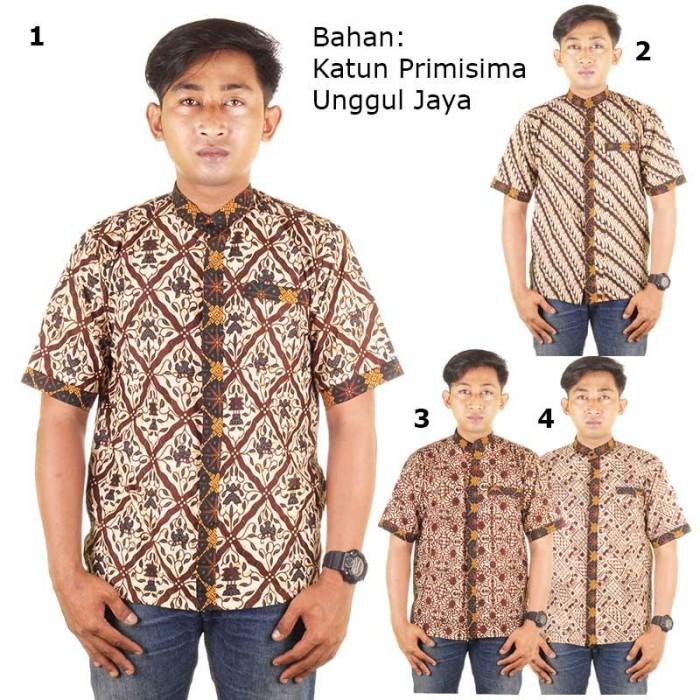 Baju koko batik  abrar - katun primisima