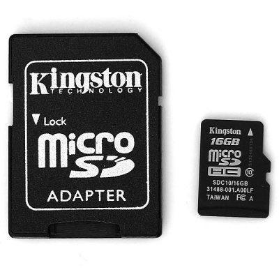 harga Micro sd card 16gb kingston uhs-i class 10 Tokopedia.com