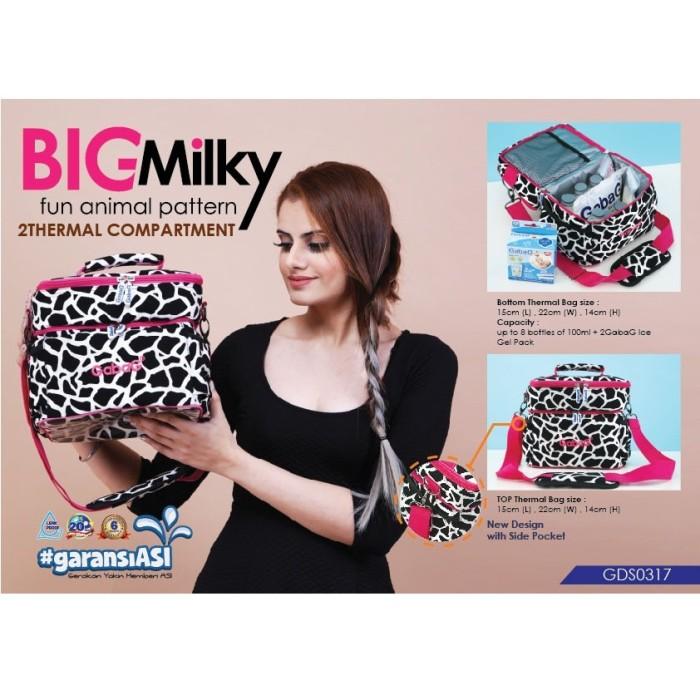 Gabag cooler bag/ tas pendingin asi ibu menyusui - big milky