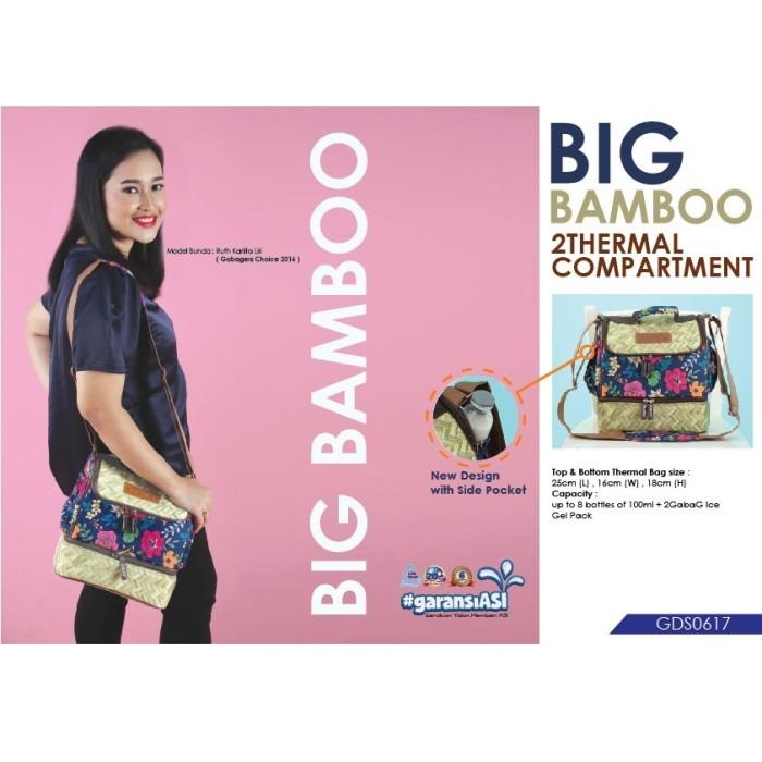 Gabag cooler bag/ tas pendingin asi ibu menyusui - big bamboo