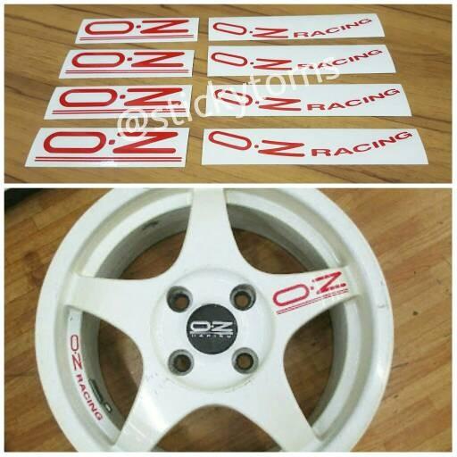 harga Paket stiker velg mobil oz racing chrono Tokopedia.com