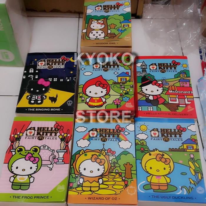 harga Boneka hello kitty fairy tales set of 7 limited (official mcdonald) Tokopedia.com