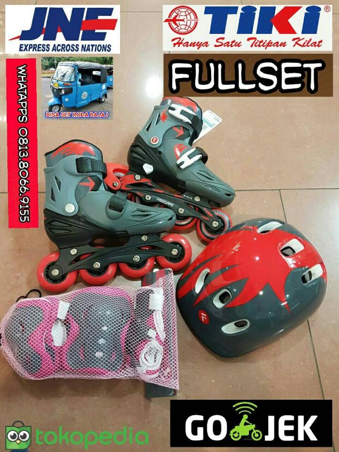 Jual Sepatu Roda   Inline Skate Merk Freedare Lengkap + Helm ... d3748c48d1