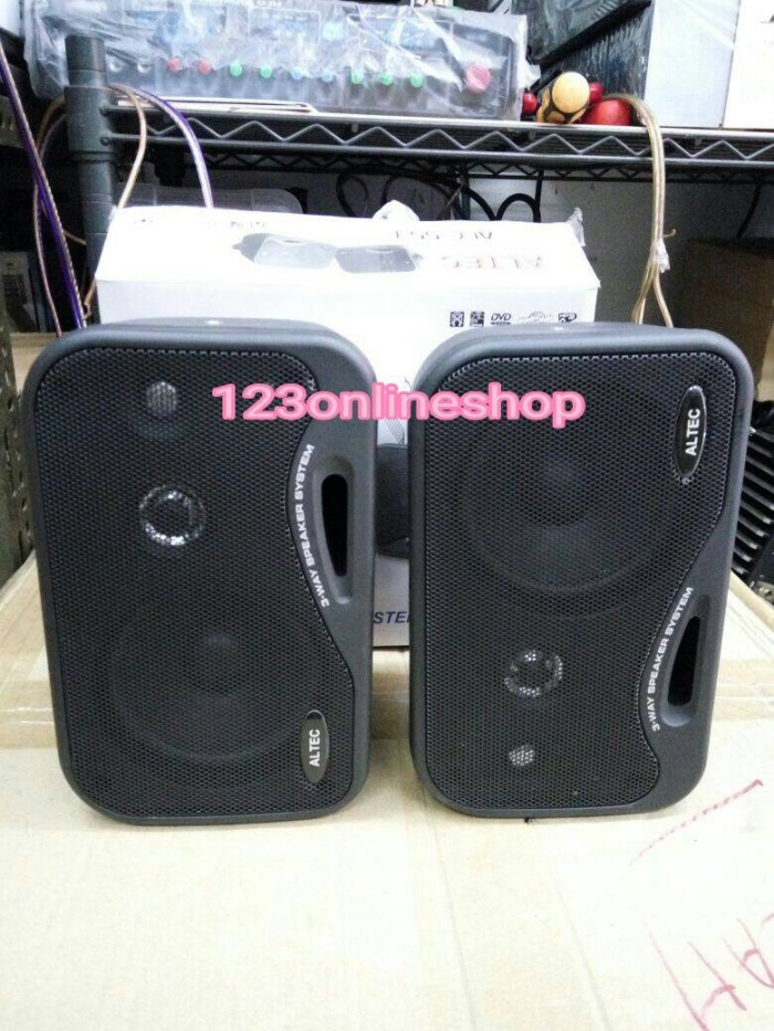 harga Speaker 4  pasif 3 way altec 200 watt (2unit) Tokopedia.com