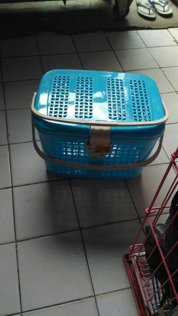 harga Keranjang rio-pet carrier-cargo kucing large Tokopedia.com