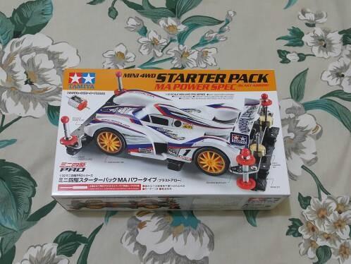 harga Tamiya mini 4wd starter pack ma power type ( blast arrow ) # 18647 Tokopedia.com