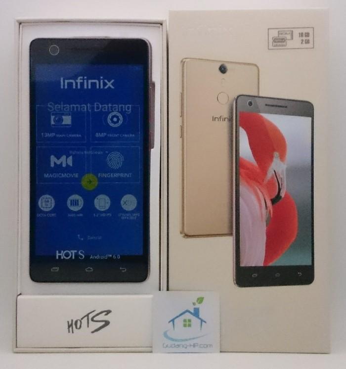 Infinix Hot S X521 4g Ready - 16gb - Rose Gold