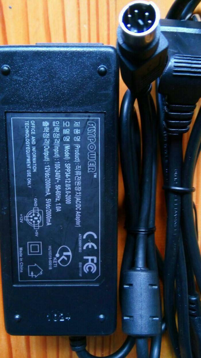 Jual Adaptor Switching Power Supply Flypower 12v 2a 5v 6 Pin