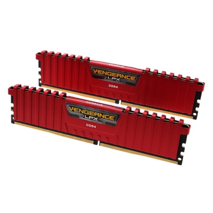 harga Memory pc vengeance 1x4gb ddr4 2400mhz c14-red (cmk4gx4m1a2400c14r) Tokopedia.com