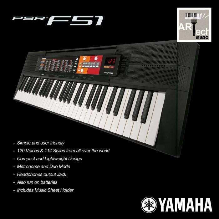 Jual Keyboard Yamaha Psr F51 Psrf51 Psr F51 Kota Bekasi Arttech Tokopedia