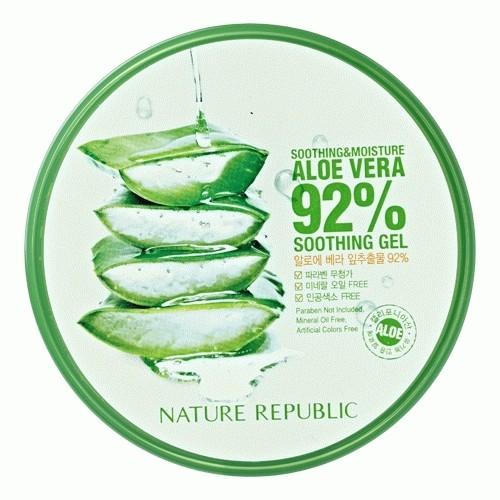 harga Nature republic aloe vera and green tea soothing and moisturing gel Tokopedia.com