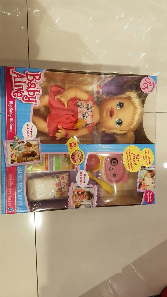 harga Baby Alive My Baby All Gone Tokopedia.com