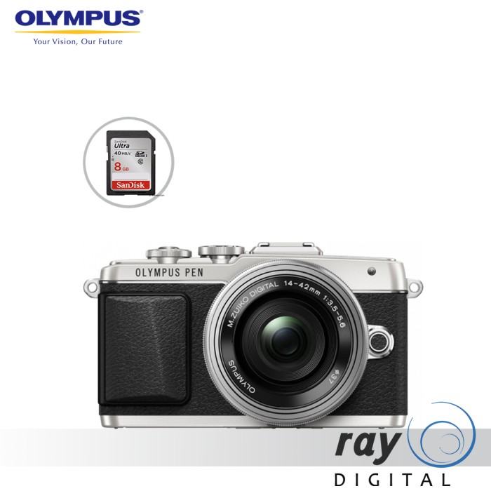 harga Olympus pen e-pl7 kit 14-42mm ii r silver / olympus pen epl7 kit 14-42 Tokopedia.com