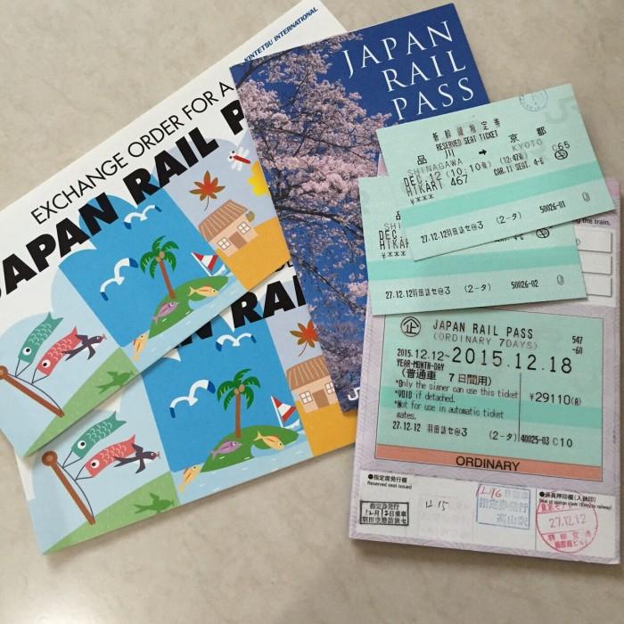 7 Days Jr Posaka Tokyo Hokuriku Arch P Japan Rail Tiket