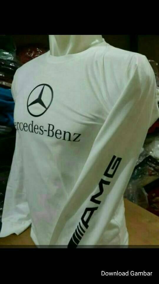 harga Tshirt mercy, baju kaos lengan panjang mercedes-benz amg Tokopedia.com