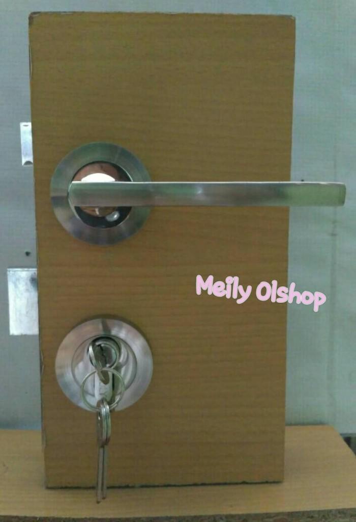 harga Kunci pintu misah / kunci pintu rumah / handle pintu Tokopedia.com