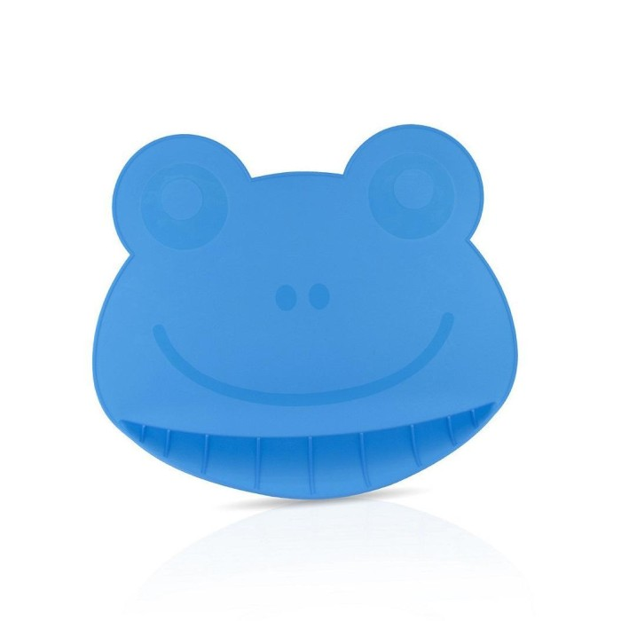 harga Nuby frog silicone placemat blue Tokopedia.com