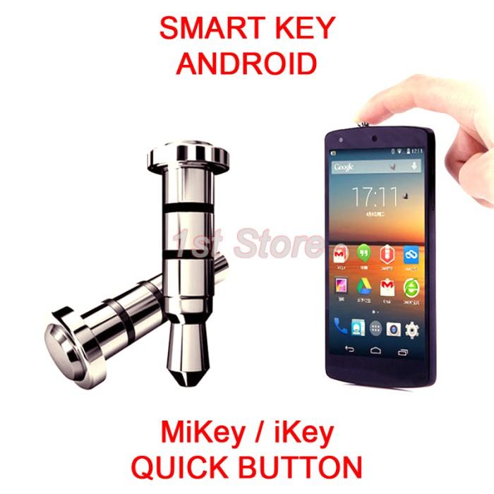 Jual Android Smart Key iKey MiKey i Mi Quick Button Tombol Pintas Dust Pl4  - tthrokin   Tokopedia