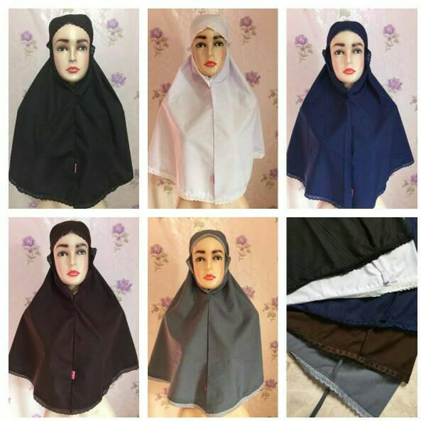 Jual Bergo Al Azhar Jilbab Sekolah Cek Harga Di Pricearea Com