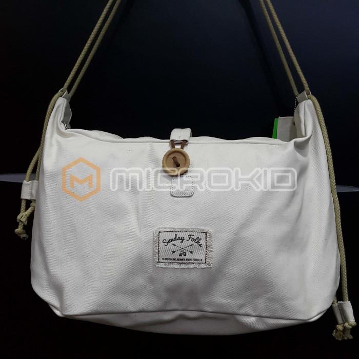 harga Tas exsport 5013x14g monamie duffel bag (cream) Tokopedia.com
