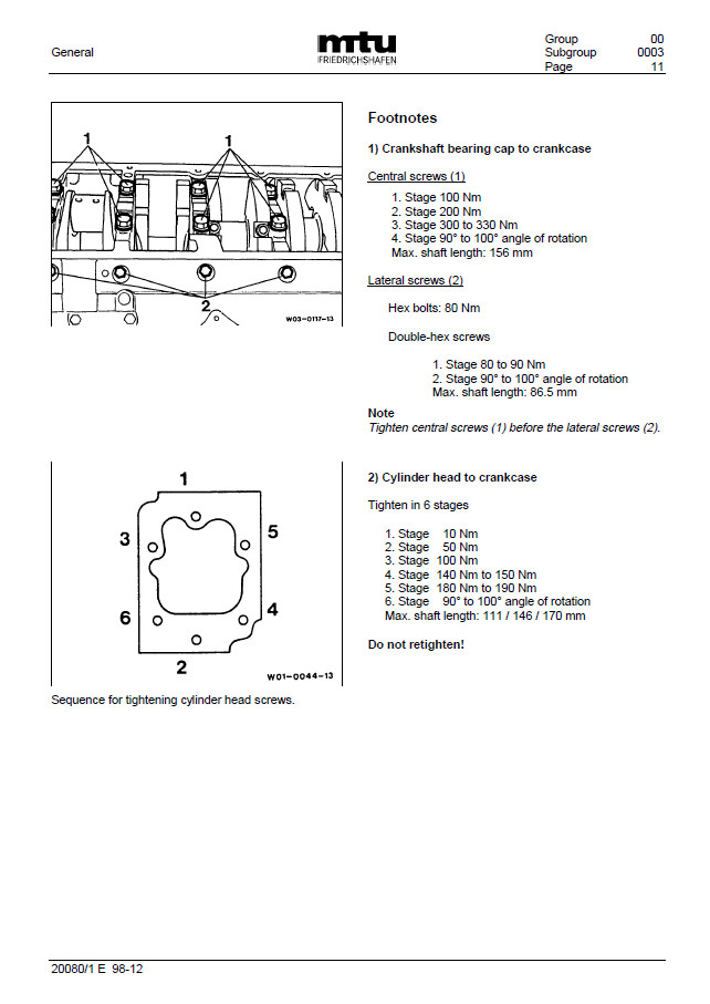 Jual MTU 183 Series - Kab  Halmahera Utara - Workshop Manual | Tokopedia